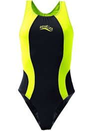 Costume intero, bpc bonprix collection, Nero / giallo neon