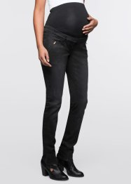 Jeans skinny prémaman, bpc bonprix collection, Nero stone