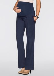 Pantalone prémaman a gamba larga, bpc bonprix collection, Blu scuro