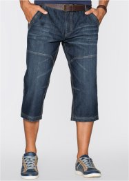 Jeans 3/4 regular fit, John Baner JEANSWEAR, Blu scuro