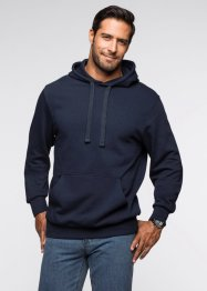 Felpa con cappuccio regular fit, bpc bonprix collection, Blu scuro