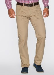 Pantalone 5 tasche regular fit straight, bpc bonprix collection, Beige