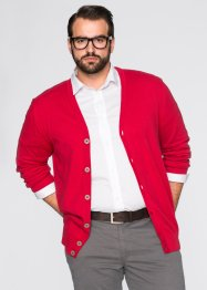 Cardigan regular fit, bpc selection, Rosso