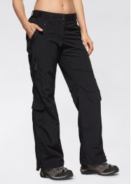 Pantaloni funzionali, bpc bonprix collection, Nero