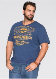 T-shirt regular fit, John Baner JEANSWEAR, Blu jeans