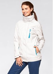 Giacca in softshell, bpc bonprix collection, Bianco panna