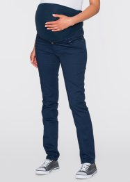 Pantalone prémaman skinny, bpc bonprix collection, Blu scuro