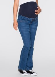 Jeans prémaman bootcut, bpc bonprix collection, Blu stone