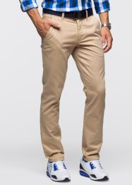 Pantalone chino slim fit STRAIGHT, RAINBOW, Beige