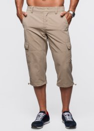 Pantalone cargo 3/4 loose fit, bpc bonprix collection, Beige