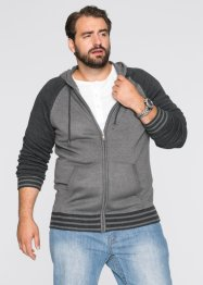 Cardigan regular fit, bpc bonprix collection, Grigio melange