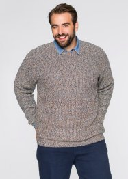 Pullover regular fit, bpc bonprix collection, Blu multicolore