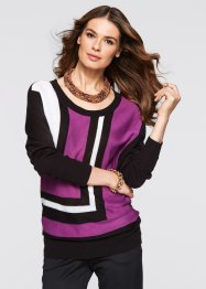 Pullover, bpc selection, Peonia / nero