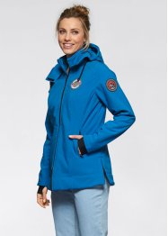 Giacca in softshell, bpc bonprix collection, Blu reale