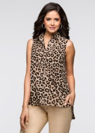 Camicetta, BODYFLIRT, Marrone scuro / color nudo / cognac / nero leopardato