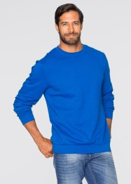 Felpa regular fit, bpc bonprix collection, Bluette