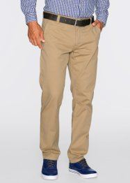 Pantalone chino regular fit diritto, bpc bonprix collection, Cappuccino