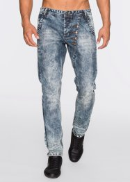 Jeans loose fit tapered, RAINBOW, Blu