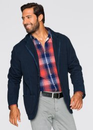 Giacca in felpa regular fit, bpc bonprix collection, Blu scuro
