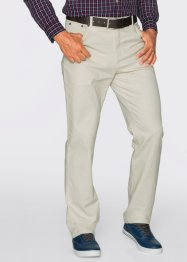 Pantalone elasticizzato classic fit straight, bpc bonprix collection, Ecru