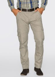 Pantalone cargo regular fit straight, bpc selection, Sabbia