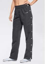 Pantalone per lo sport con bottoni, bpc bonprix collection, Nero