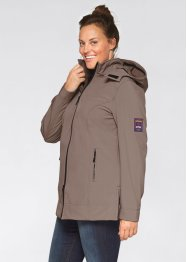 Giacca in softshell, bpc bonprix collection, Blu scuro