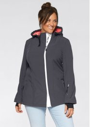 Giacca in softshell, bpc bonprix collection, Ardesia