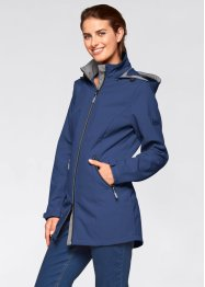 Giacca in softshell, bpc bonprix collection, Blu notte