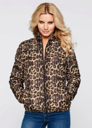 Giacca, BODYFLIRT boutique, Marrone leopardato