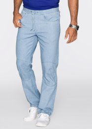 Jeans con elastico regular fit, bpc bonprix collection, Azzurro