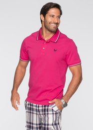 Polo regular fit, bpc bonprix collection, Fucsia scuro