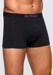 Boxer (pacco da 7), bpc bonprix collection, Nero