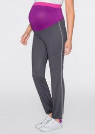 Leggings per lo sport prémaman, bpc bonprix collection, Ardesia