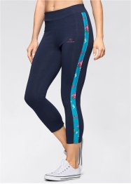Leggings 3/4, bpc bonprix collection, Blu scuro