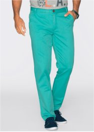 Pantalone chino regular fit diritto, bpc bonprix collection, Verde mare