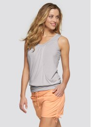 Top da wellness, bpc bonprix collection, Grigio