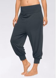 Pantaloni alla turca da wellness, bpc bonprix collection, Nero