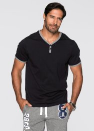 T-shirt regular fit, bpc bonprix collection, Nero