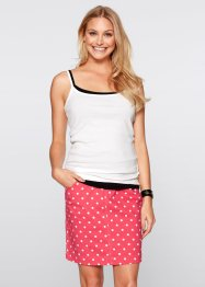 Top (pacco da 3), bpc bonprix collection, Fragola + nero + bianco