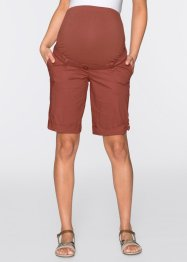 Pantaloncino prémaman, bpc bonprix collection, Marsala