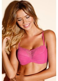 Reggiseno push-up, RAINBOW, Rosa intenso