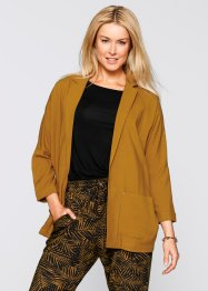 Blazer con manica a 3/4 Maite Kelly, bpc bonprix collection, Marrone rossiccio