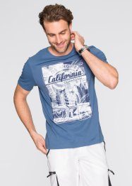 T-shirt regular fit, bpc bonprix collection, Blu jeans