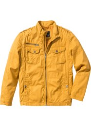 Giacca in cotone regular fit, bpc bonprix collection, Giallo