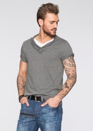 T-shirt slim fit, RAINBOW, Grigio melange