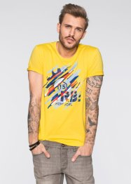 T-shirt slim fit, RAINBOW, Giallo