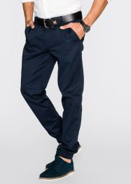 Pantalone chino regular fit, bpc bonprix collection, Blu scuro