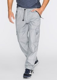 Pantalone cargo loose fit straight, bpc bonprix collection, Grigio chiaro