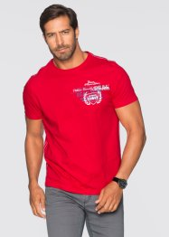T-shirt regular fit, bpc selection, Rosso